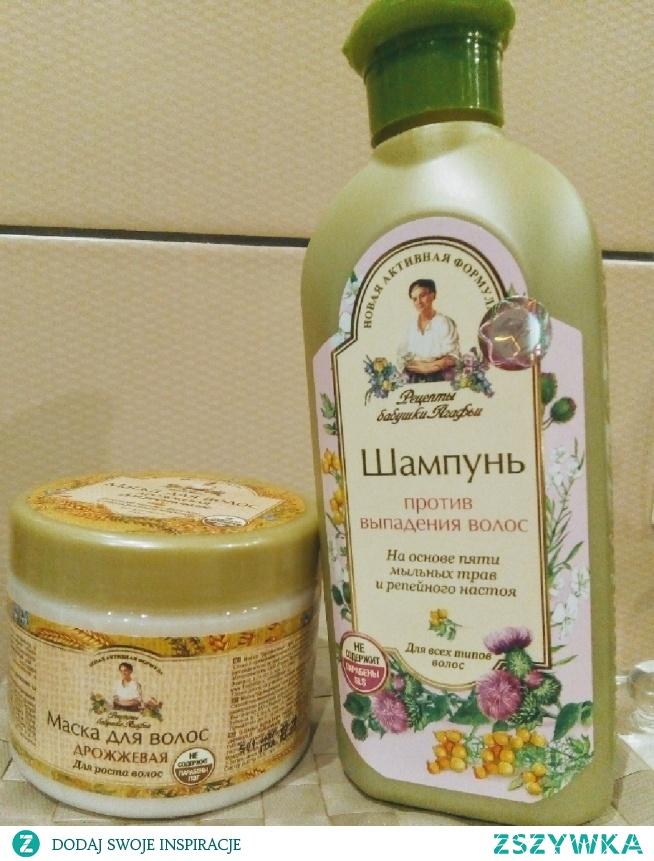 Bania Agafii... uwielbiam.. naprawdę działają i przynoszą zamierzony efekt :) szampon do włosów wypadających .. i maska drożdżowa :)
