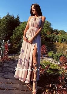 Piękna, długa sukienka dla ...