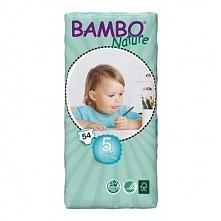 Pieluszki Bambo Nature r.5 JUNIOR 12-22kg 54szt.
