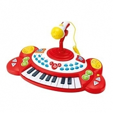 Pianinko Smily Play z mikrofonem 1/6 2055