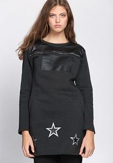 Ciemnoszara Tunika Ambition Fashion