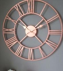 Miedziany zegar