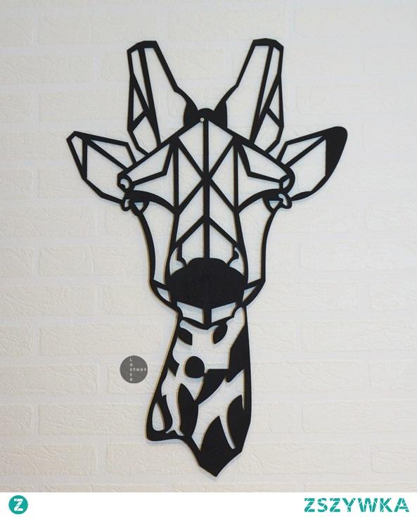 Żyrafa. Dekoracja do domu, na ścianę, do każdego wnętrza. Geometryczne zwierzęta. Piękna ozdoba, pomysł na prezent. Zajrzyj do nas na Facebooka i  Instagram ;) Laser Story.
