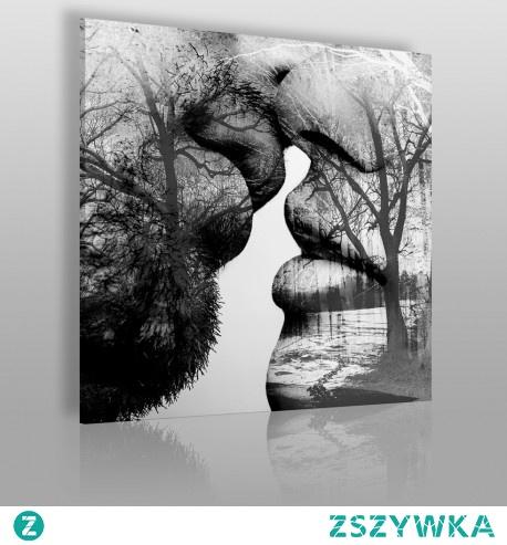 Antologia namiętności w kwadracie - nowoczesny obraz na płótnie