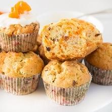 Muffinki marchewkowe ze śmi...