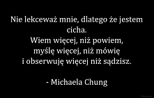 - Michaela Chung