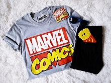 Koszulka MARVEL COMICS - bl...