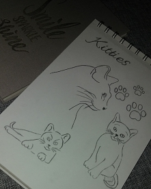 Szkic kot   Zapraszam na insta: @zrysowane