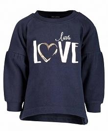 Blue Seven Dziecięcy Sweter Love, 68, Niebieski