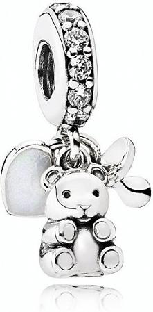 Pandora Srebrny Wisiorek Dzieci Skarby 792100cz Srebro 925/1000