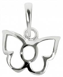 Brilio Silver Dzieci Srebrnywisiorek Butterfly 446 154 00178 04 - 0,30 G Sreb...
