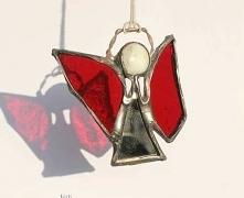 Mały szklany aniołek - miły...