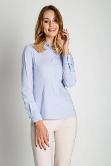 Błękitna koszula BIALCON