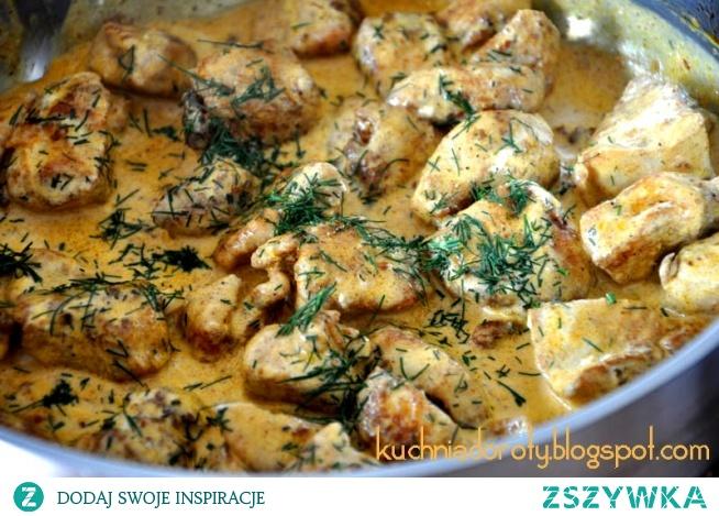 Kurczak garam masala