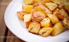 Pieczone ziemniaki z masłem czosnkowym