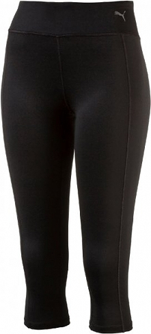 Puma Legginsy Do Biegania Essential 3 4 Tight Black S