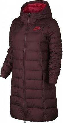Nike Płaszcz Zimowy W Nsw Dwn Fill Prka Red L