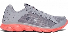 Under Armour Buty W Micro G Assert 6 Steel London Orange Rhino Gray 40,5 (9)