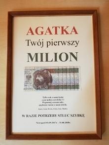 Milion dla Agaty
