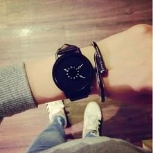 Śliczny Zegarek Damski Styler <3 TARCZA: Analogowa SZKIEŁKO: Mineralne o p...