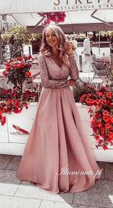 Piękna, długa sukienka na s...