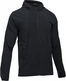 Under Armour Outrun The Storm Jacket Black Black Reflective M