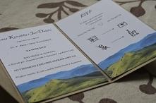 Zaproszenia na ślub w folderze  więcej informacji na poligrafiapr@interia.pl