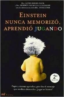 Książka-,,Einstein nigdy nie zapamiętywał,uczył się bawiąc'' napisa...