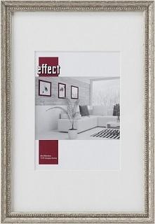 Ramka Effect Bilderrahmen Effect Profil 66, 18x24, drewniana, srebrny  (S660,...