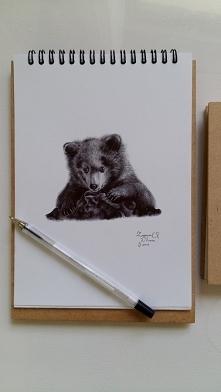Długopis na papierze, A5 :)...