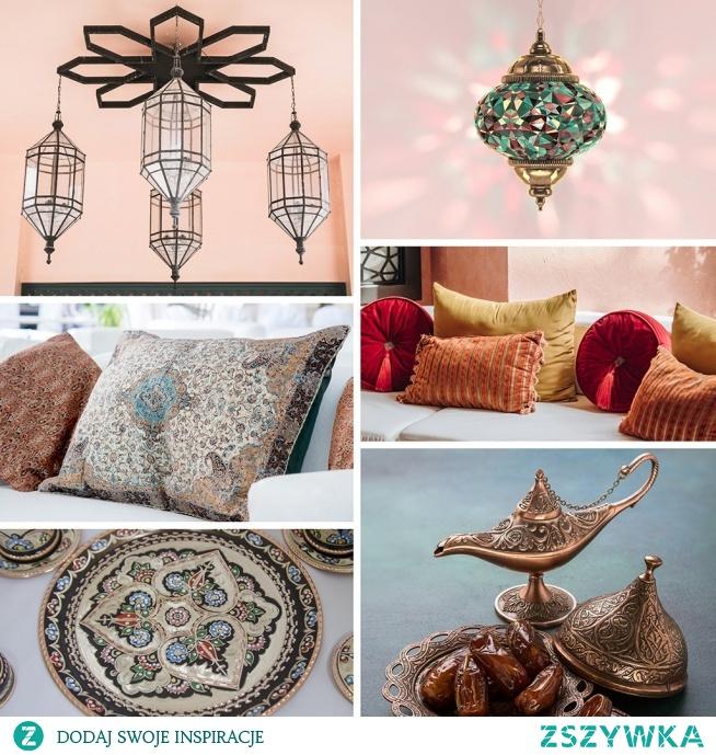 Kierunek Orient! Kolorowe wnętrza idealne na jesień