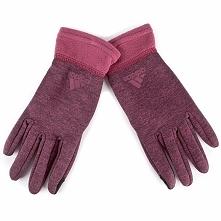 Rękawiczki Damskie adidas - Clmwm Flc Gl BP5465 S Rednit/Mysrub/Mysrub