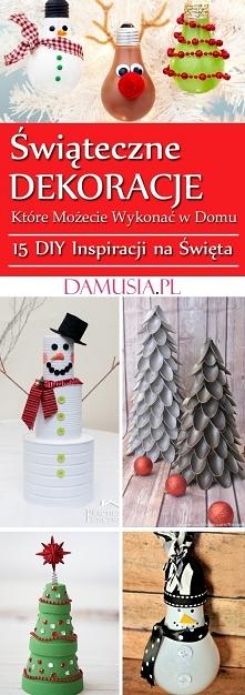 Świąteczne DIY Dekoracje Kt...