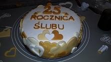 prezent dla Tesciow na rocznice slubu ;)