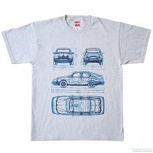 koszulka SAAB GRAY tshirt