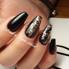 Trumienki black & gold