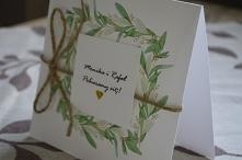 Zaproszenia na ślub  więcej informacji na poligrafiapr@interia.pl