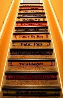 Ciekawe schody...