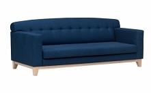 Sofa z tkaniną łatwą w czys...