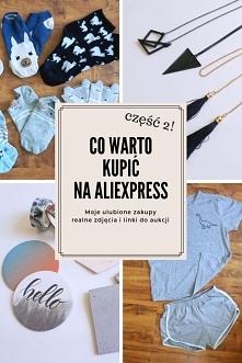 Co kupić na Aliexpress?