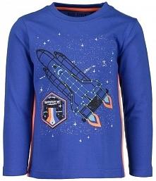 Blue Seven Koszulka Chłopięca Z Rakietą 92 Niebieski