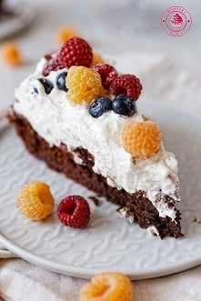 """Ciasto """"czekoladowa chmura"""""""