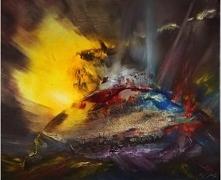 Autorski obraz olejny o wym...
