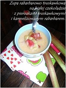Zupa rabarbarowo-truskawkowa