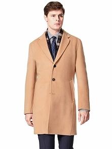 Płaszcz w kolorze karmelowym