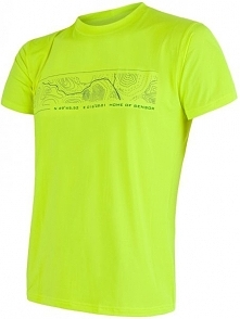 Sensor Koszulka Coolmax Fresh Pt Gps Yellow Xl