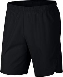 Nike Męskie Spodenki Sportowe M Nkct Flx Ace Short 9in Black White Xl