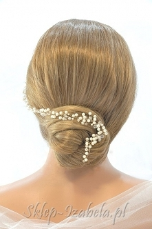 Ozdoba do fryzury na ślub g...
