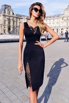 Sukienka Amanda Black z noshame.pl (klik w zdjęcie, by przejść do sklepu)