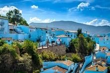Niebieska kraina w Hiszpanii, Juzcar. Puzzle po kliknięciu w zdjęcie :)